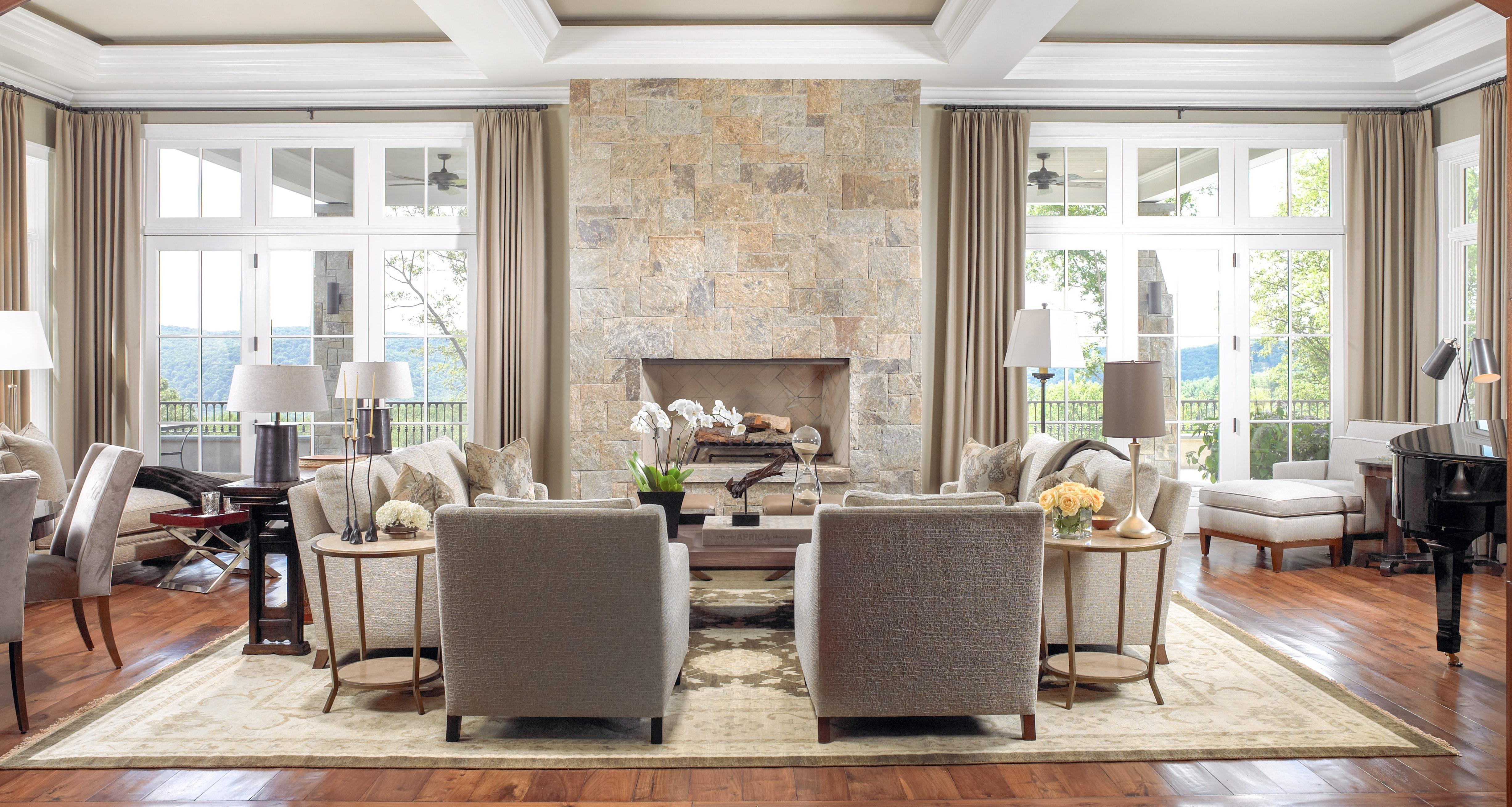 Jill Shevlin Design Interior Designer Vero Beach Florida Millbrook NY Living Room