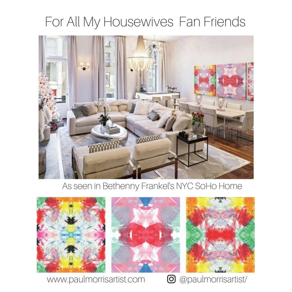 paul morris artist featured on Jill Shevlin Design Blog