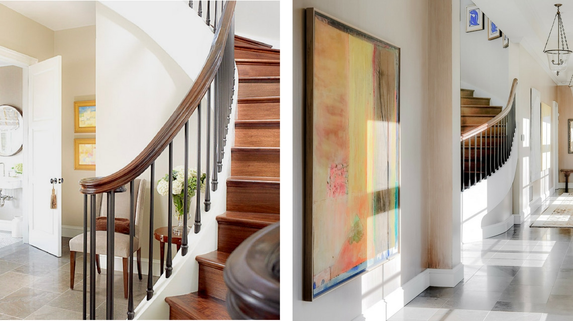 Jill Shevlin Design Interior Designer Grand Stair