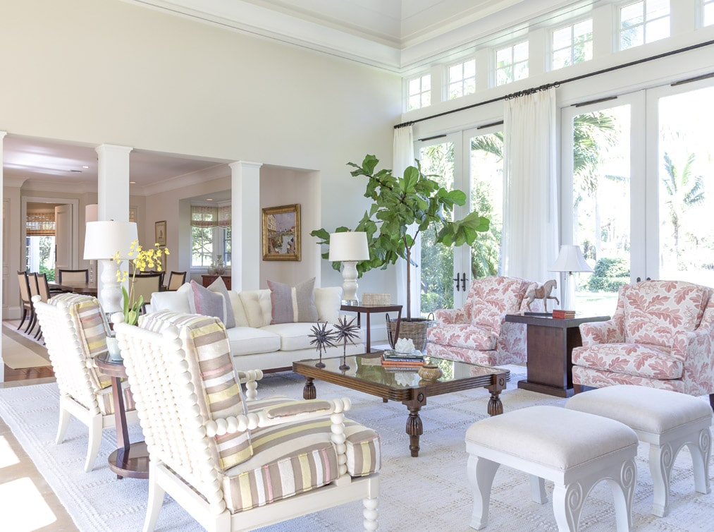 Jill Shevlin Design Interior Designer Vero Beach Florida Living Room