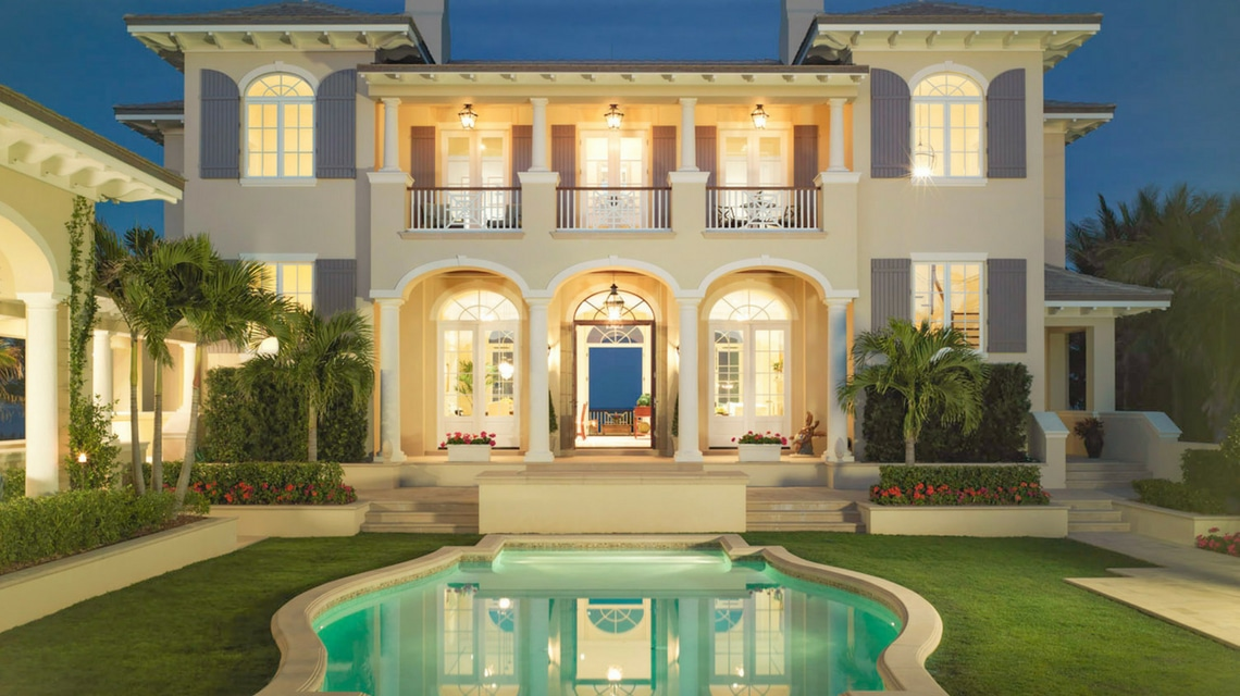 Jill Shevlin Design Vero Beach Interior Designer Make an Entrance Courtyard Pool(2)