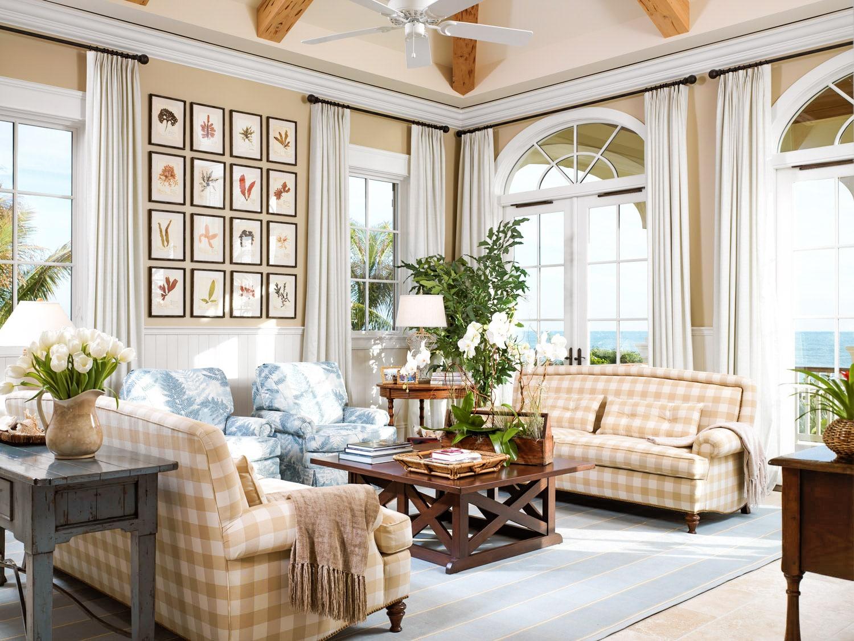 Jill Shevlin Design Vero Beach Interior Designer Ocean Front Casual Family Room