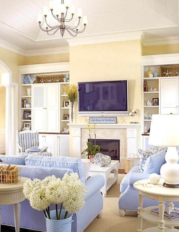 Jill Shevlin Design Vero Beach Interior Designer Casual Family Room