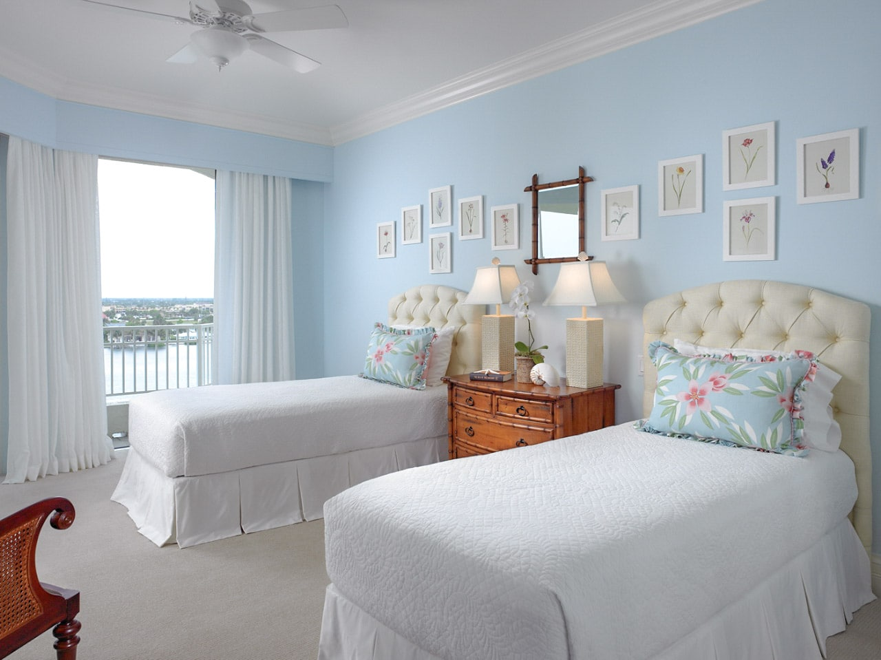Jill Shevlin Design Vero Beach Interior Designer Bedroom