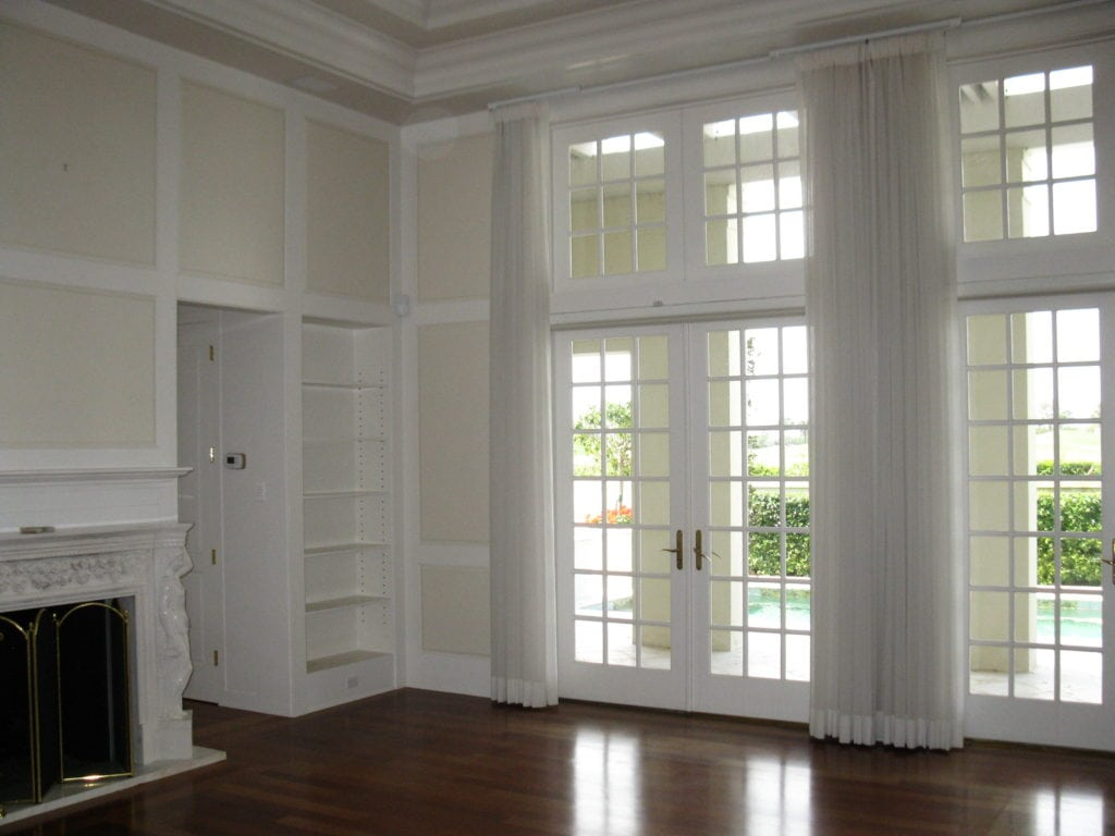 Jill Shevlin Design Windsor Home with No Furniture simple white millwork