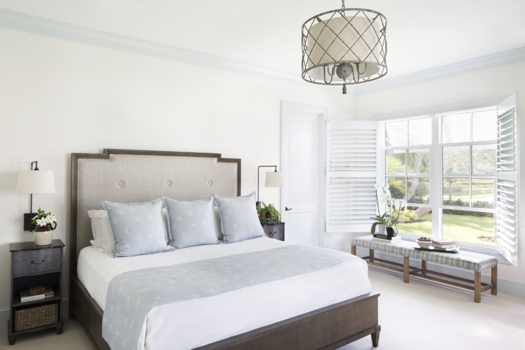 Guest Bedroom Jill Shevlin Design Vero Beach Interior Designer New Construction Home Orchid Island Vero Beach Florida