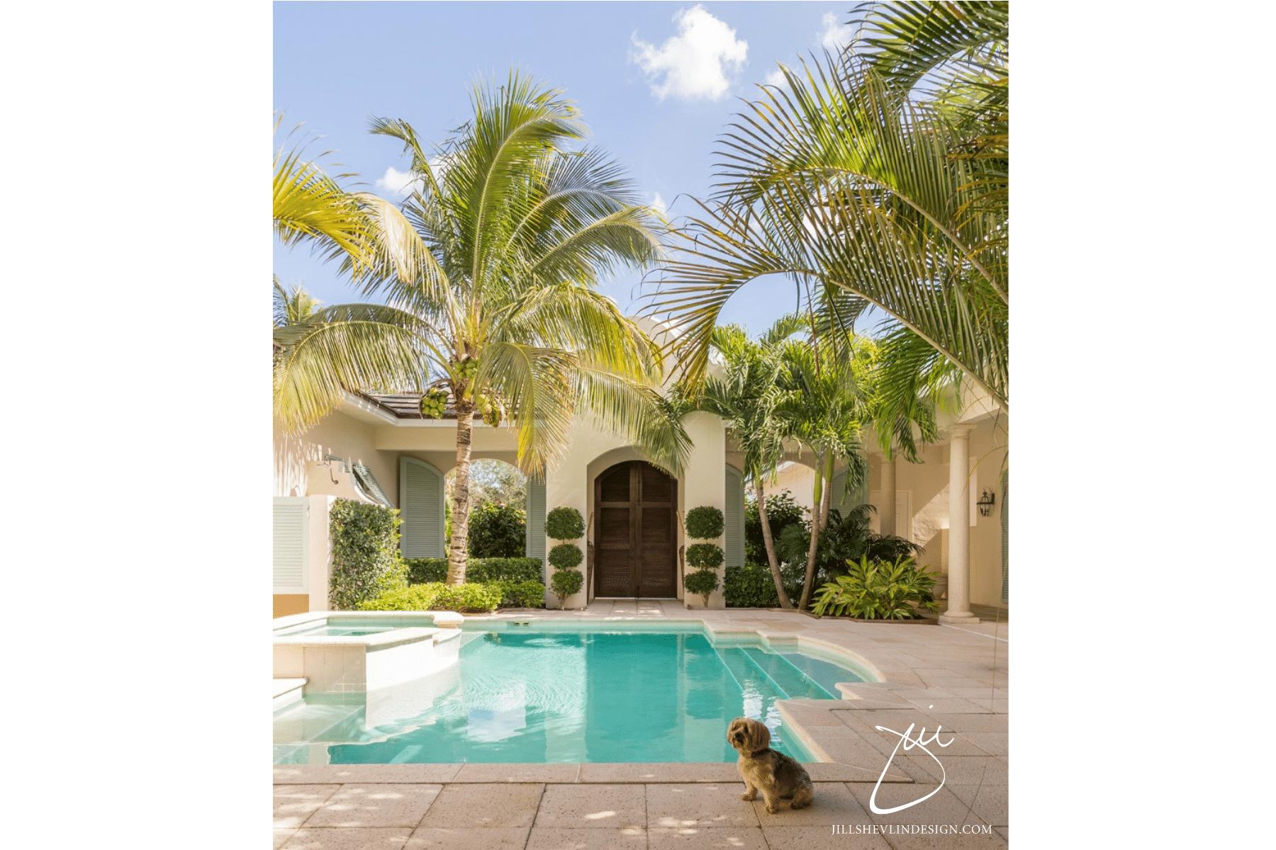 Jill Shevlin Design Vero Beach Interior Designer Courtyard Home