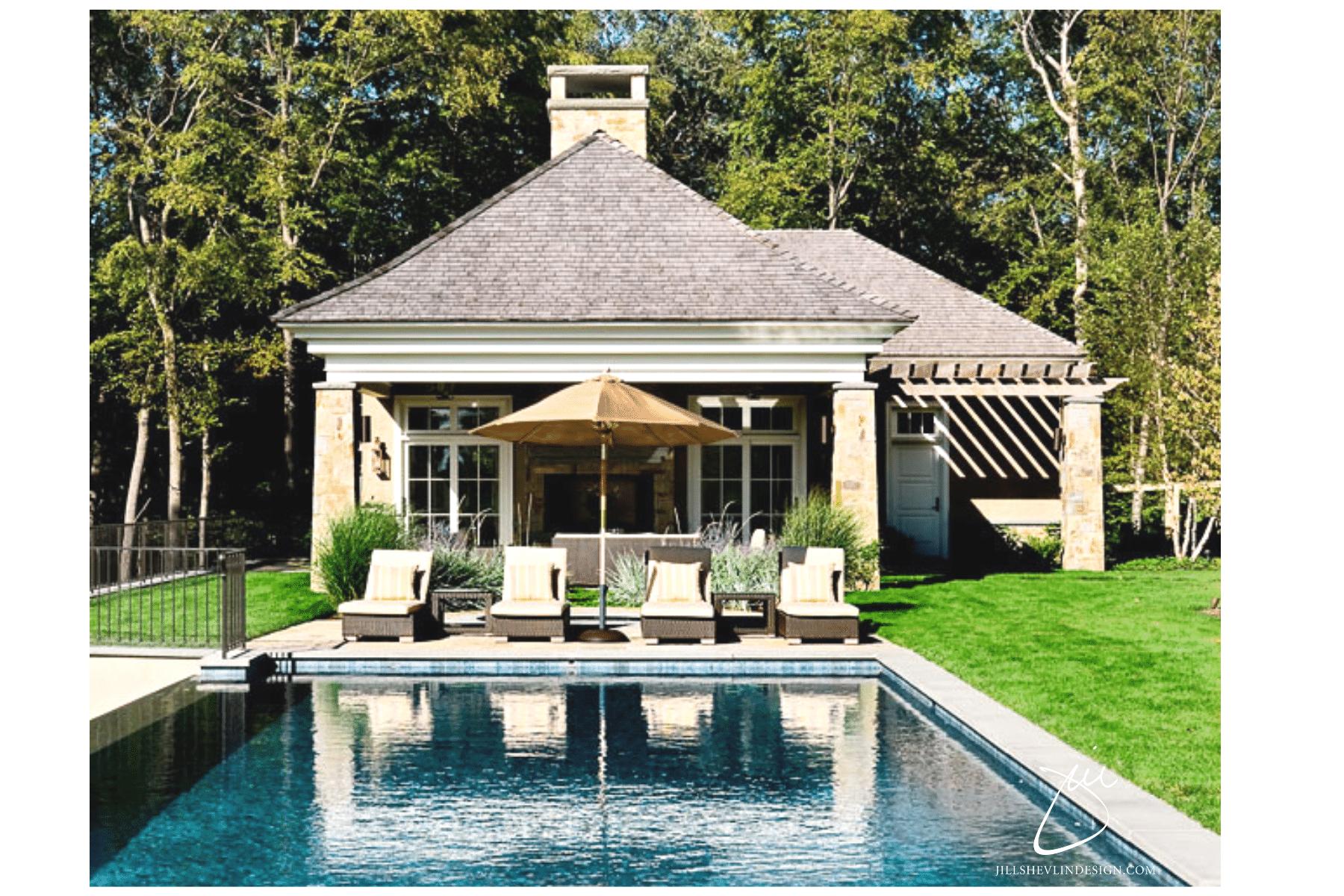 Jill Shevlin Design Vero Beach Interior Designer Outdoor Lounge Area of New York Home Vero Beach Interior Designer