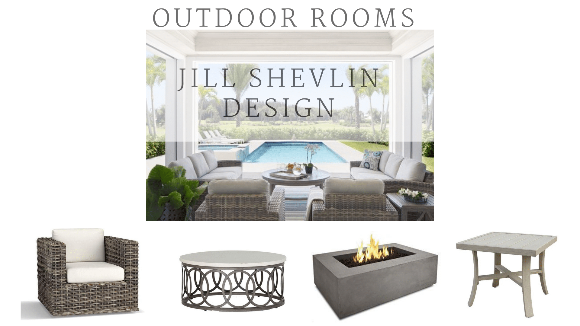 Outdoor Living Room Ideas Jill shevlin Design Vero Beach Interior Designer