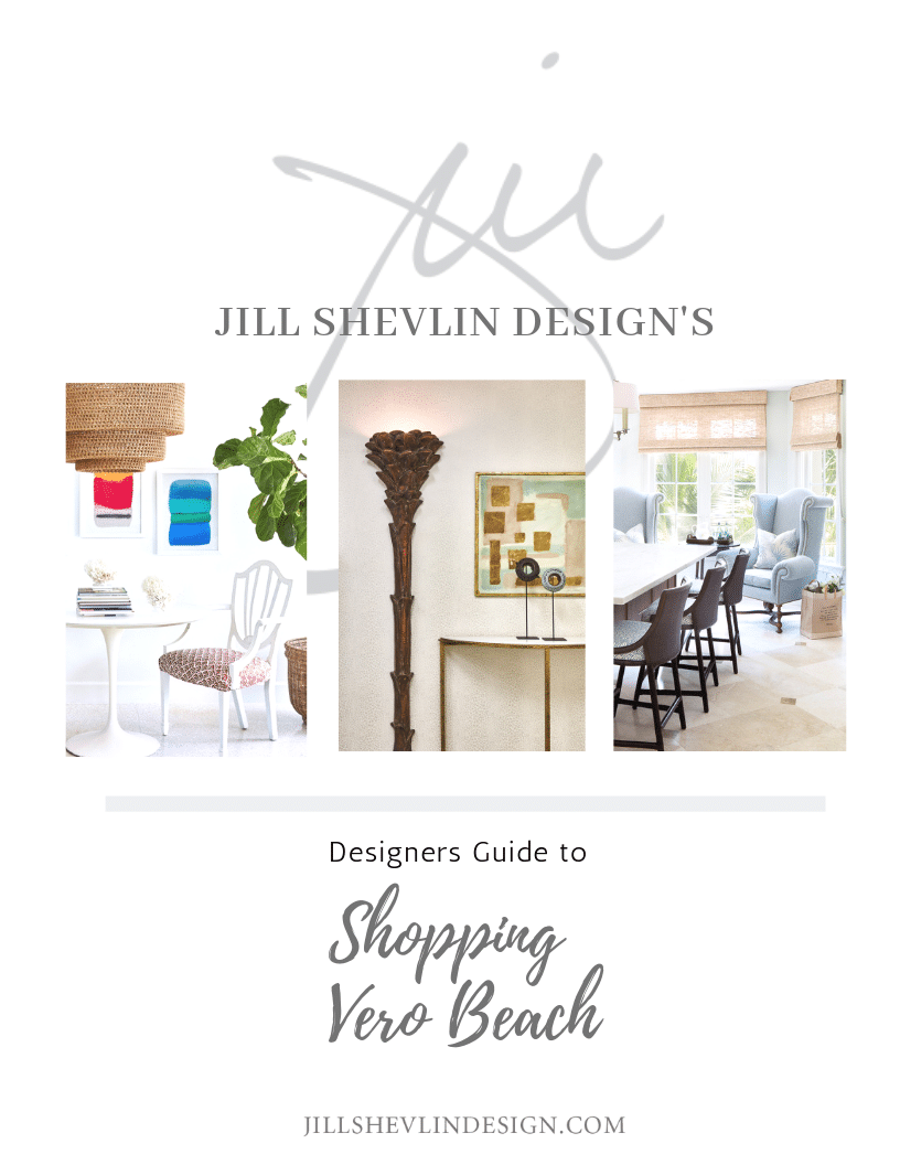 Jill Shevlin Design Vero Beach Designer Guide to Shopping Vero Beach