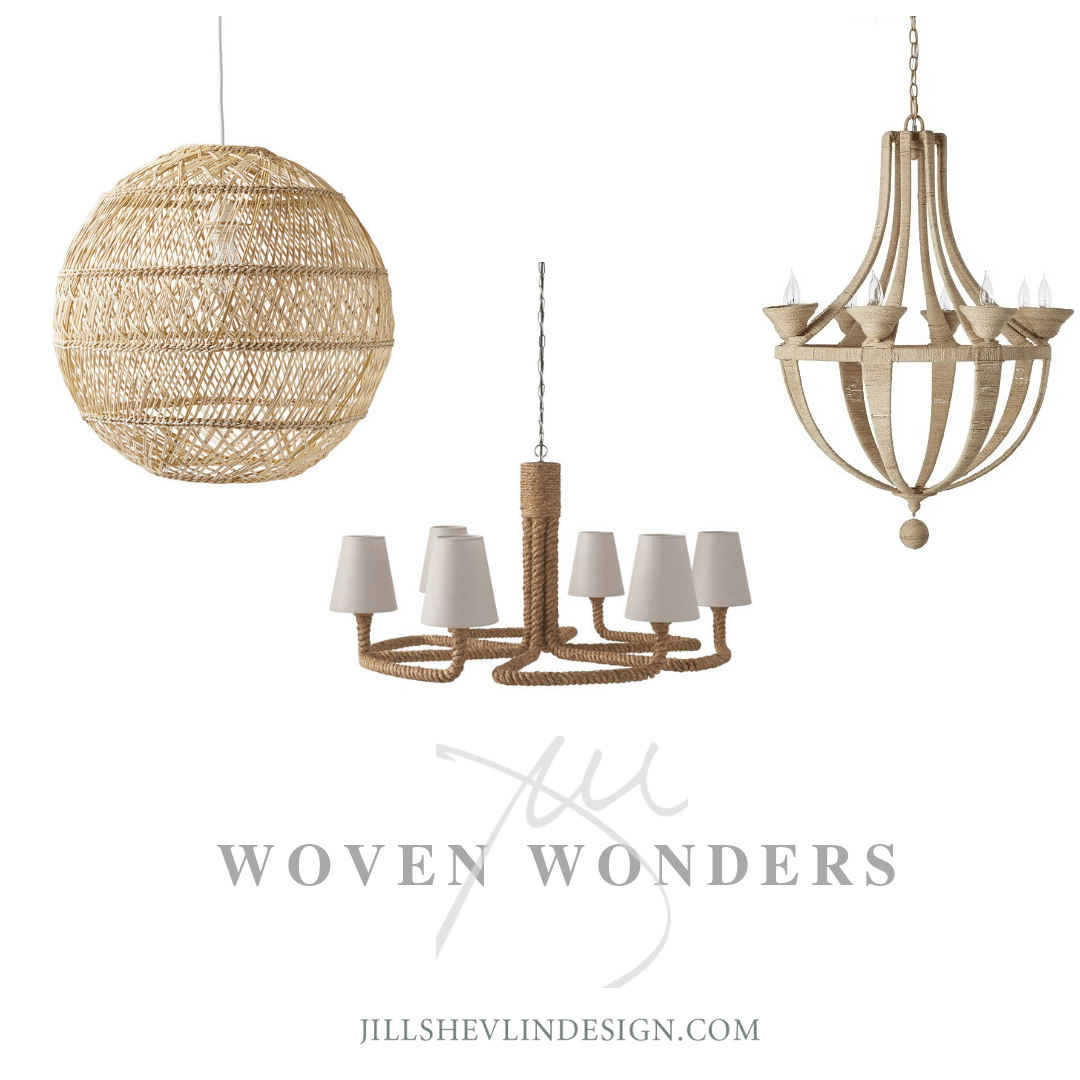 Woven Light Shop Jill Shevlin Design Vero Beach Interior Designer