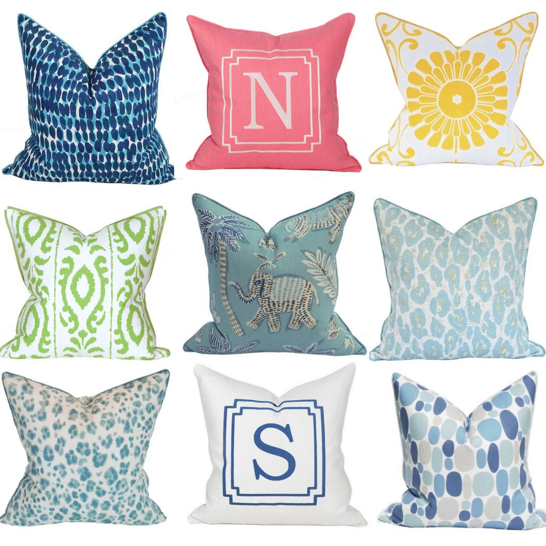 Pillow Paloza Shop Home Decor Vero Beach Jill Shevln Design