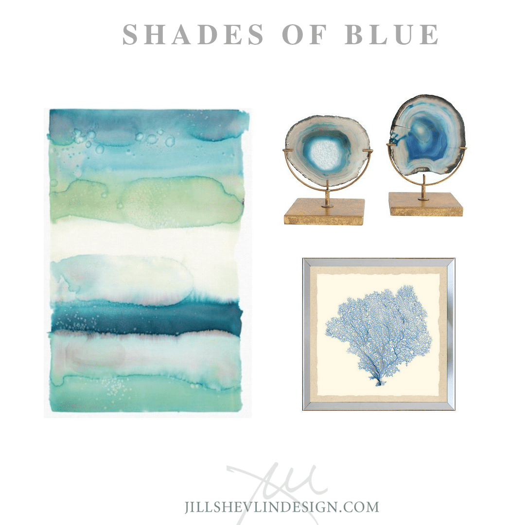 Shades of Blue Jill Shevlin Design Vero Beach Interior Designer Vero Beach Coastal Home