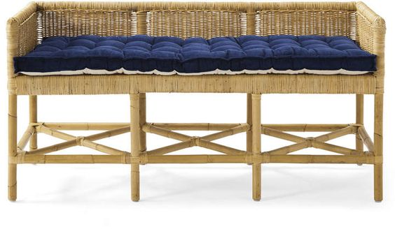 Coastal_Home_Decor_Jill_Shevlin_Design_Vero_Beach_Interior_Design_Home_Furnish_Bench_Wicker_Rattan_Coastal_Casual_Entry_Furntiure