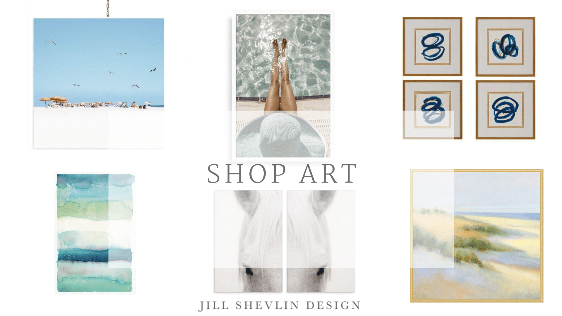 Shop Coastal Home Decor Art Jill Shevlin Design