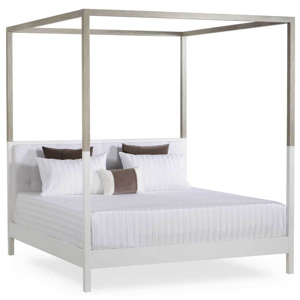 Coastal Modern Beach Four Poster Bed Shop Jill Shevlin Design