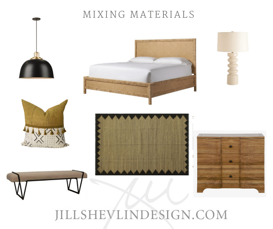 Mixing Metals Jill Shelvin Design Bedroom