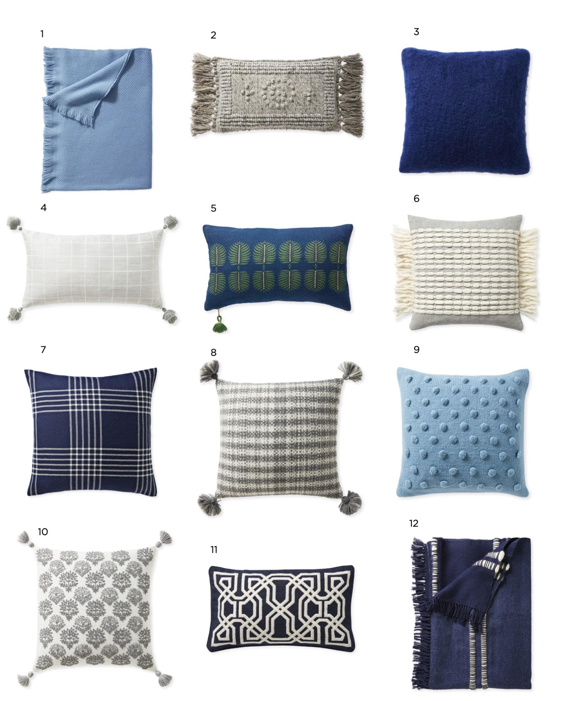 Pillow Talk Jil Shelvin Desgin Coastal Modern Pillows ON SALE