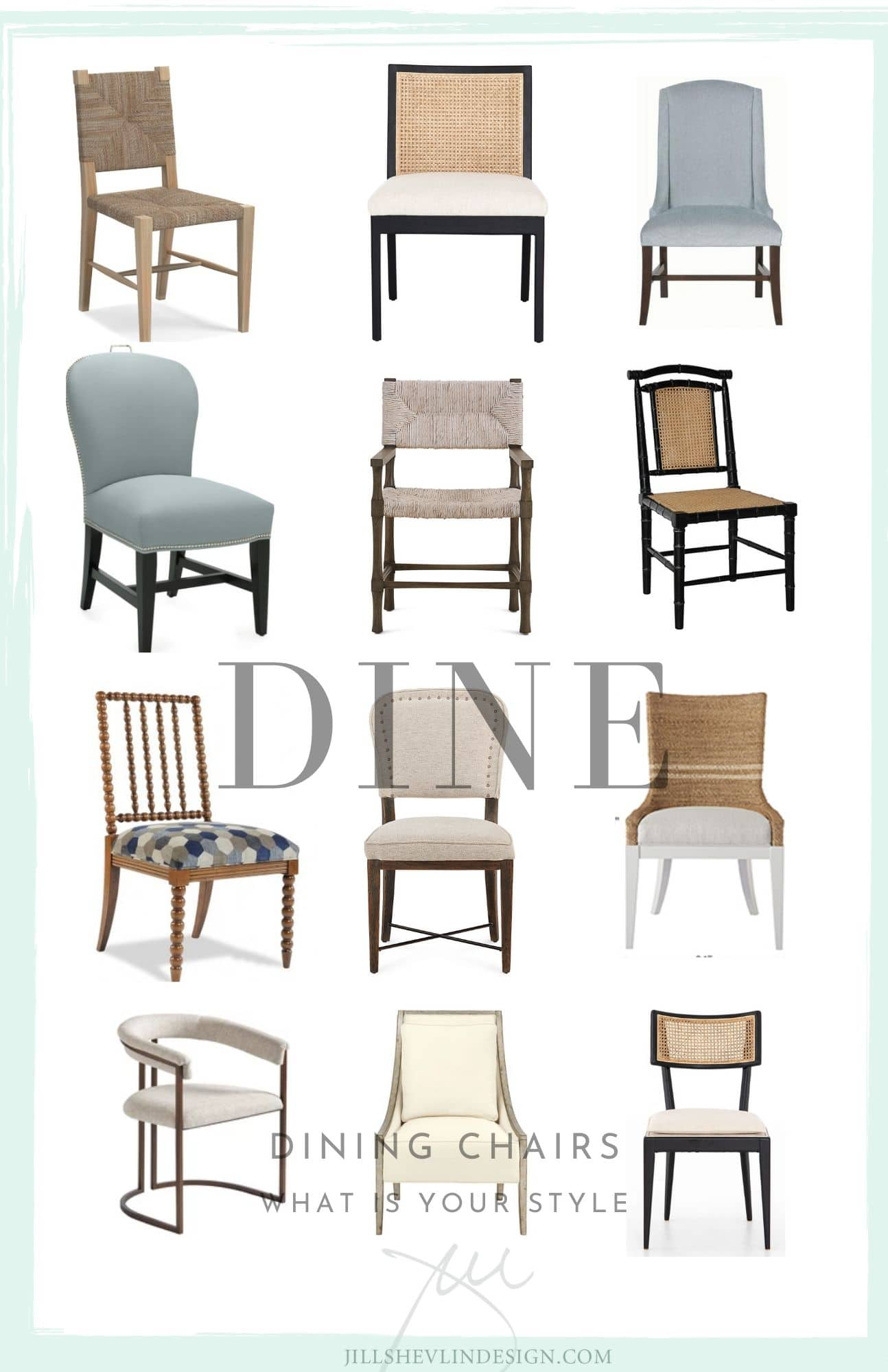 12 dining char styles jill shevlin design vero beach interior desinger home furnishings coastal modern home farmhouse home