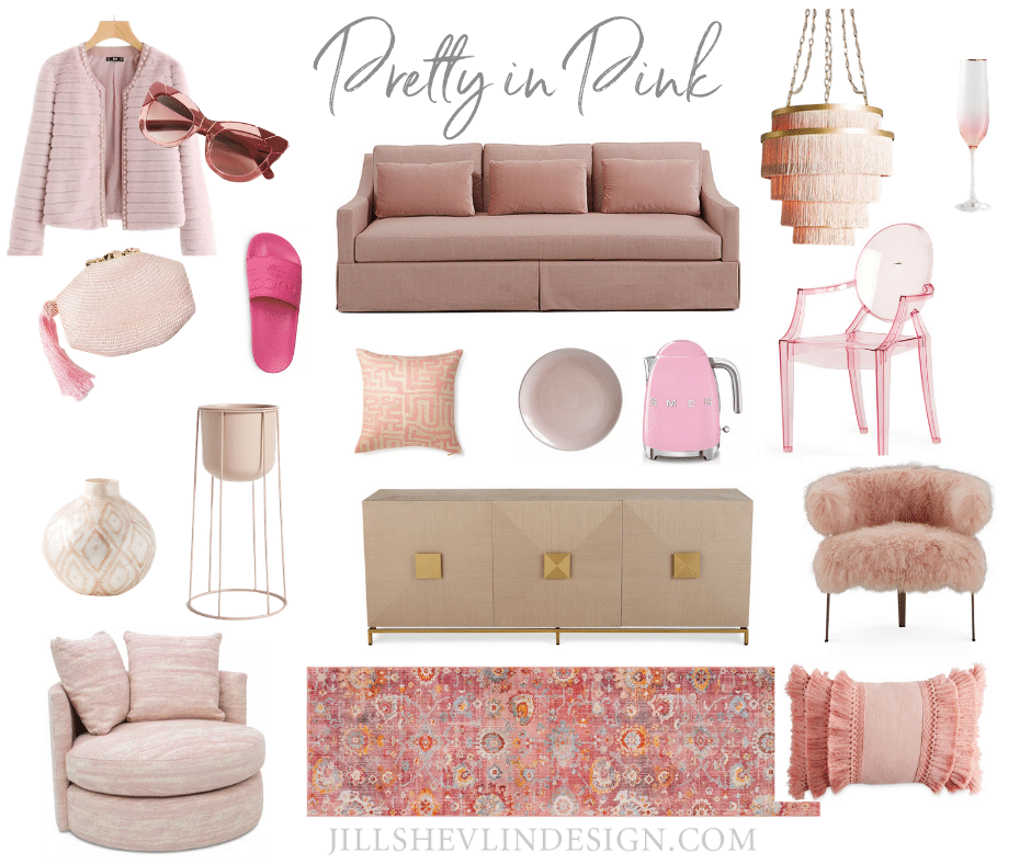 Pretty in Pink - Jill Shelvin Design Vero Beach Interior Designer