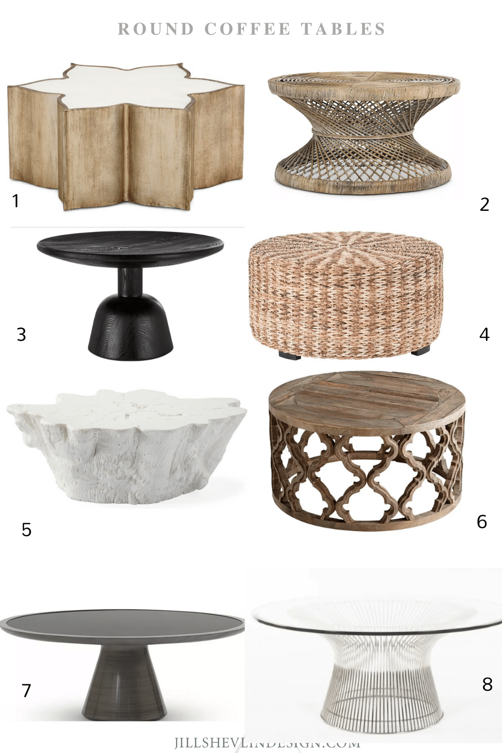 Round Coffee Tables Shop Furniture Vero Beach Home Decor Jill Shevlin Design Vero Beach Interior Designer Coffee Tables Round