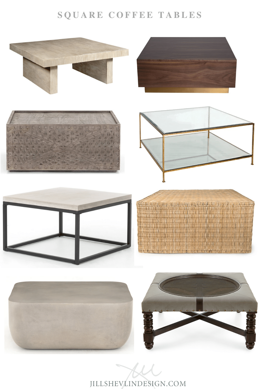 Vero Beach Shop Square Coffee Tables Jill Shelvin Design Vero Beach Interior Designer Vero Beach Home Decor Furniture