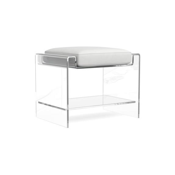 acrylic-stool-Jill shelvin design vero beach  interior designer vero beach home furnishings
