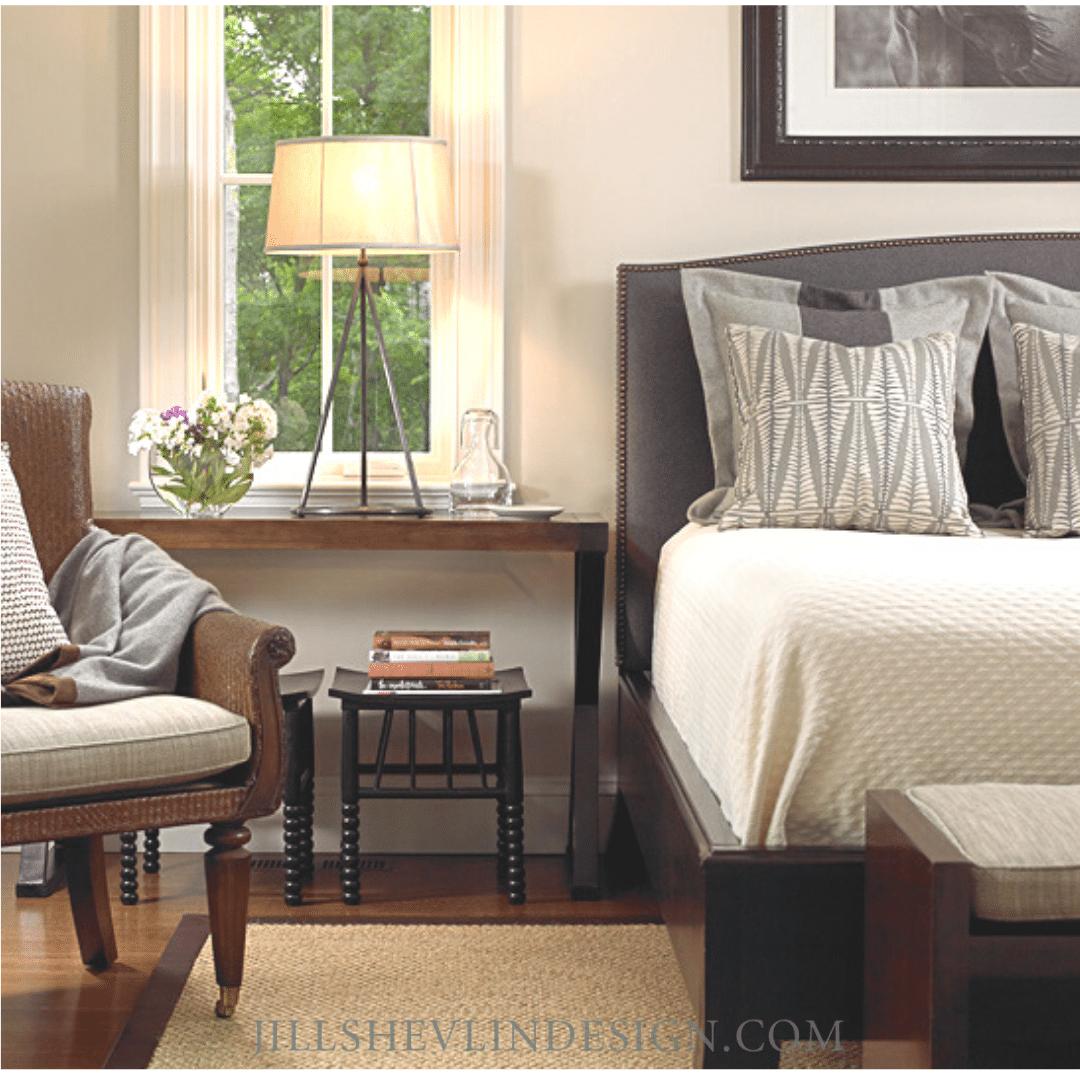 Guys Bedroom In Gray Jill Shevlin Design Vero Beach Interior Designer