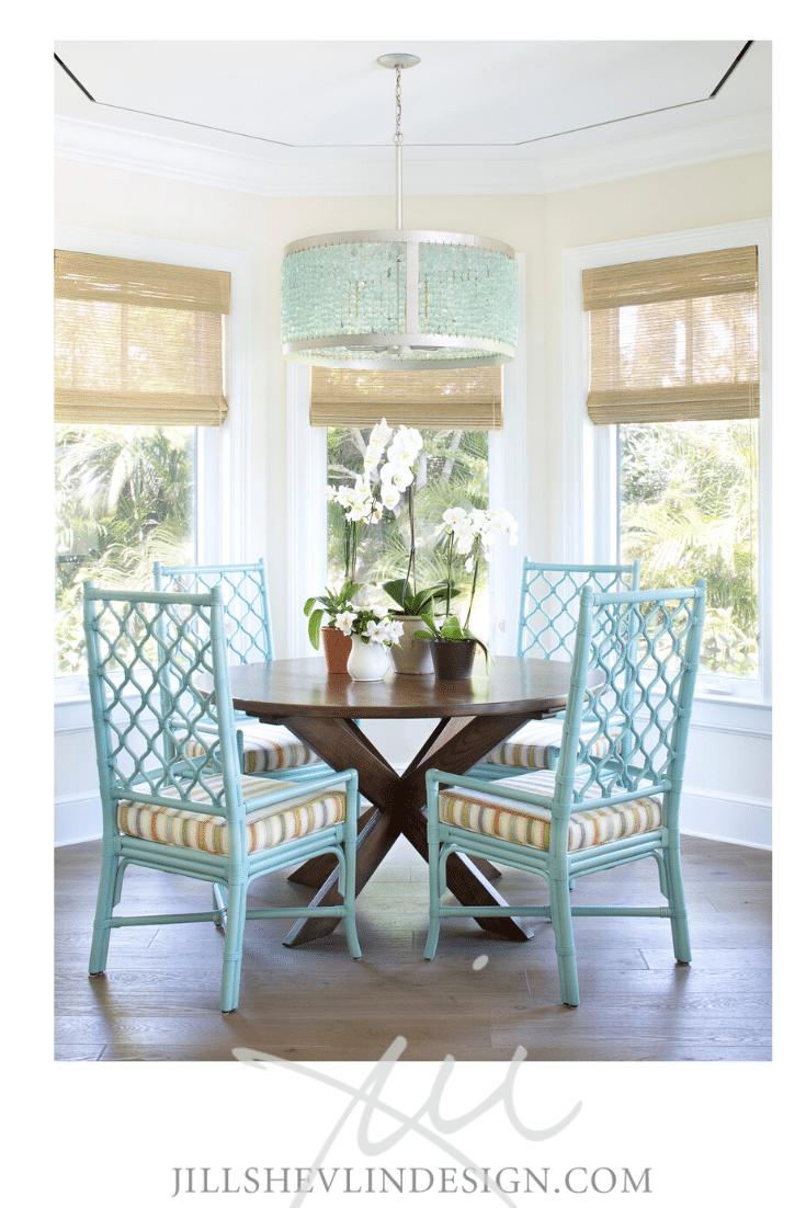 Jill Shevlin design vero beach interior designer home decor wicker rattan