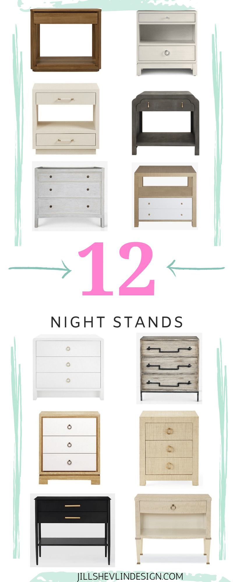 Night Stands, Night Side Tables Bedroom Buys