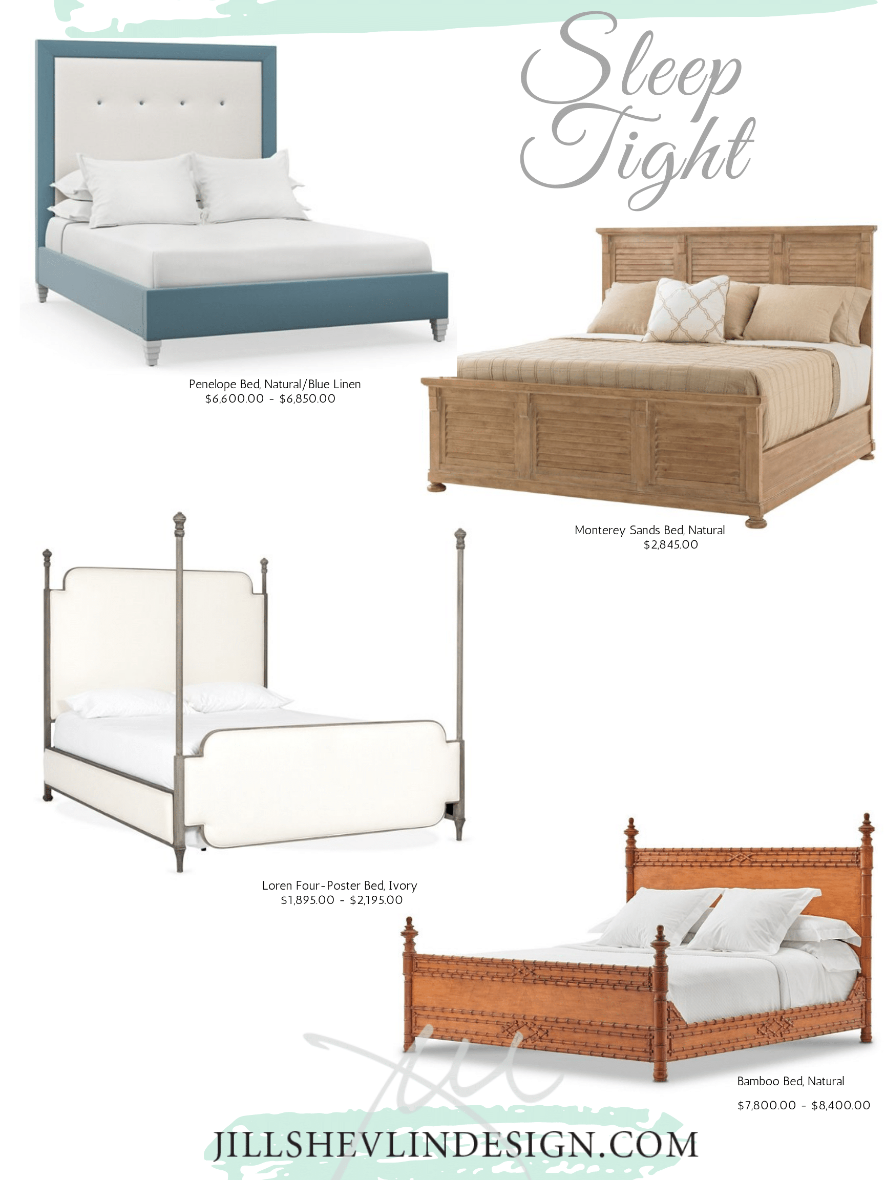 Sleeping Beauty Beds Shop Jill Shevlin Design Vero Beach Interior Designer