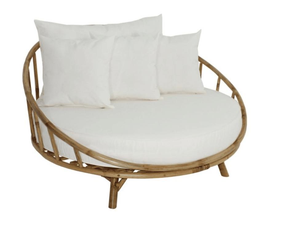 home decor vero beach rattan circle chair