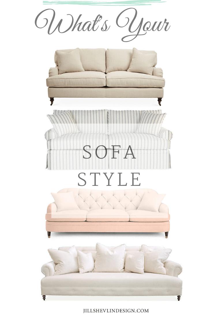 sofa style Jill shevlin design vero beach interior designer what is your sofa style