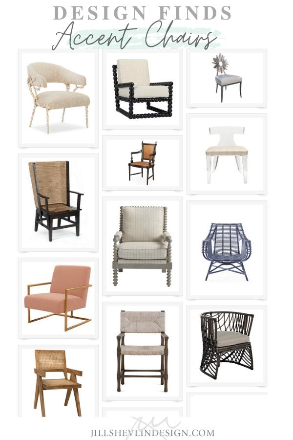 Accent Chairs Furniture with Style JIll Shevlin design Vero Beach