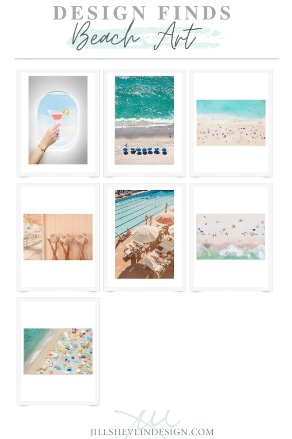 Beach Art Daily Finds JIll Shevlin design Vero Beach