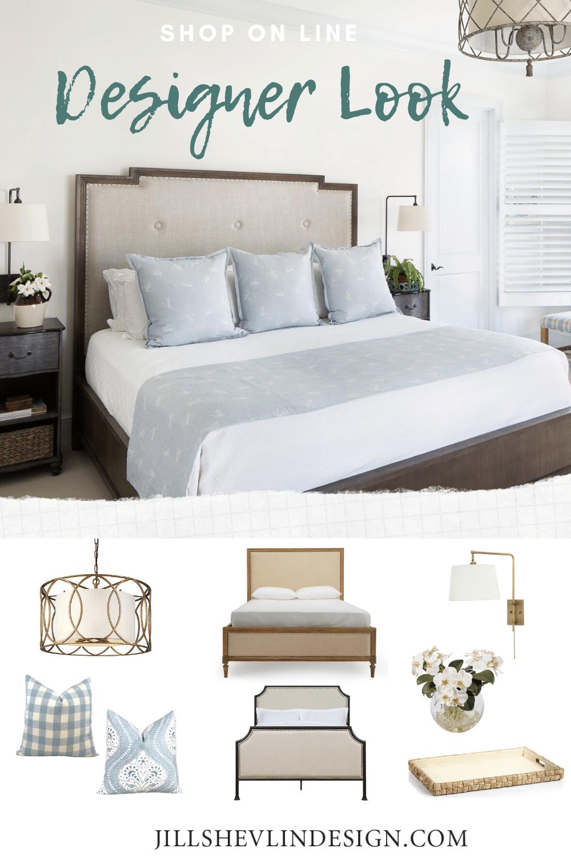 Casual Bedroom Shop The Look Jill Shevlin Design Vero Beach Interior Designer