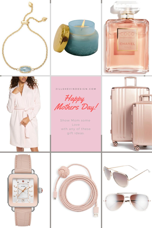 Happy Mothers Day! Guift Guide in PInk Jill shevlin design