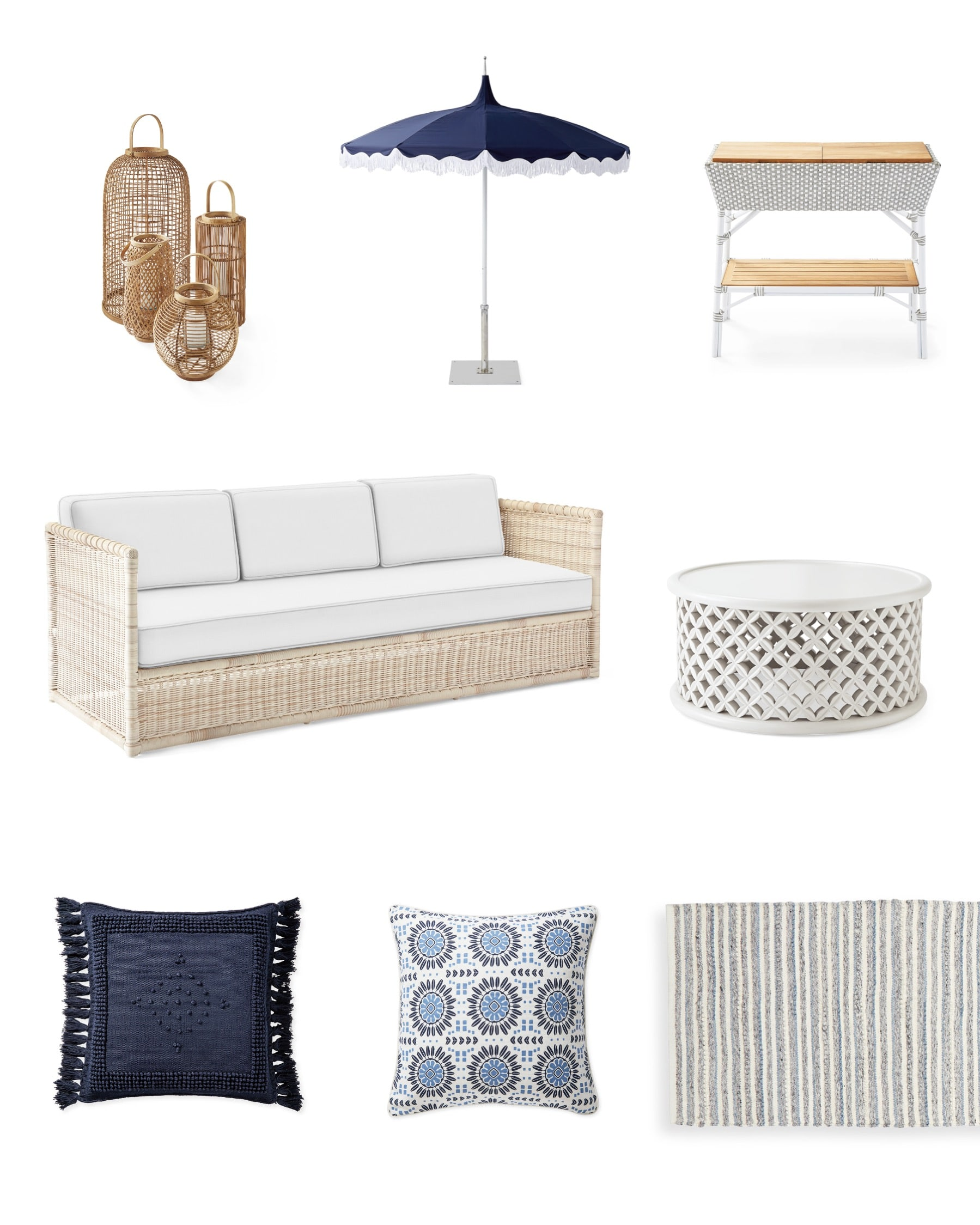Serena & Lily Summer Sale Outdoor Oasis Jill Shelvin Design