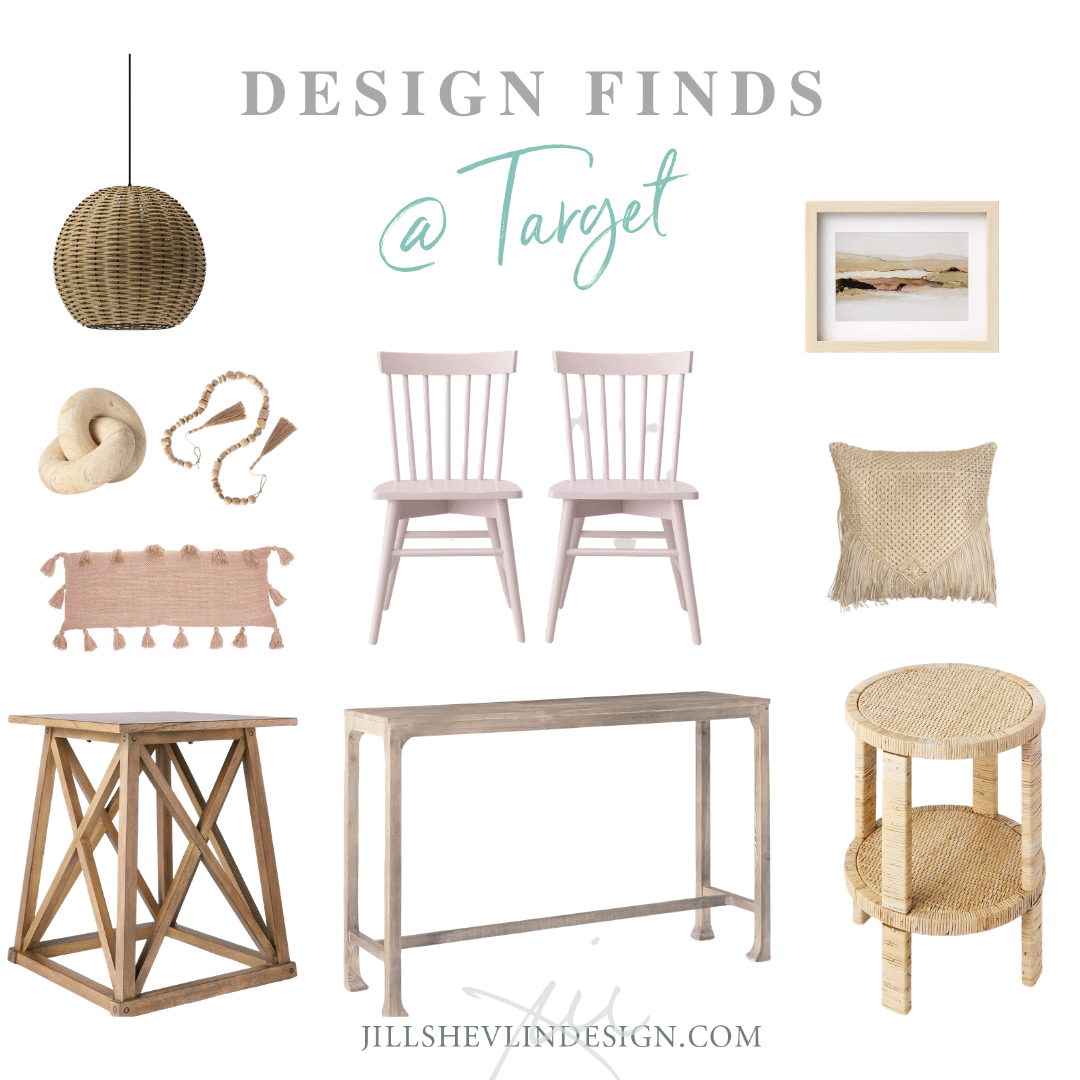 Coastal Casual Rarmhouse Fresh Target Design Finds from Interior Designer Jill Shelvin