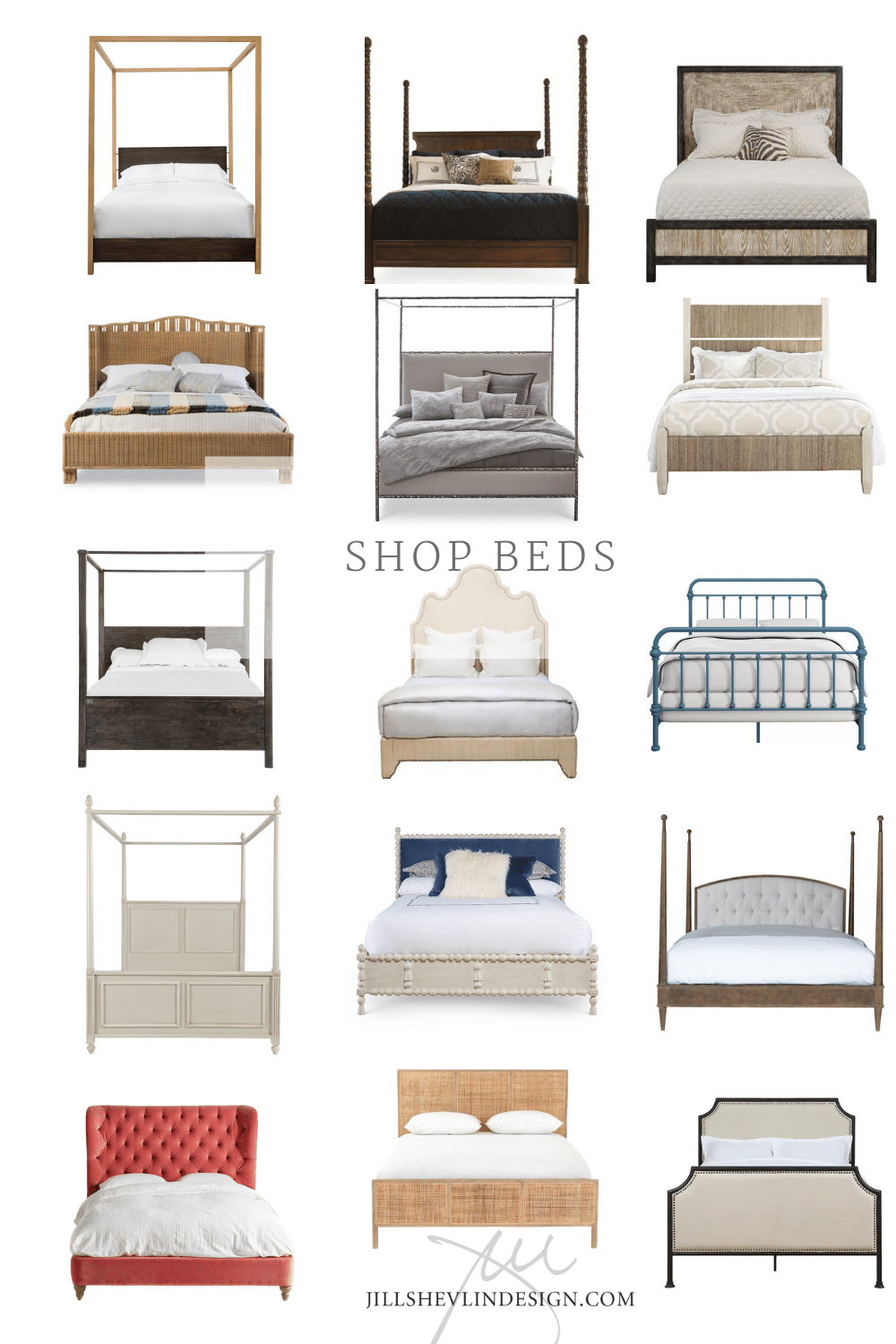 Beds Unique Beds for Every Style and Budget From Jill Shelvin Design