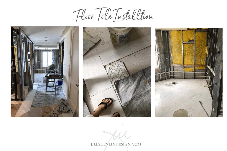 Tile Install Master Bath Remodel Jill Shelvin Design Jupiter Island (8)