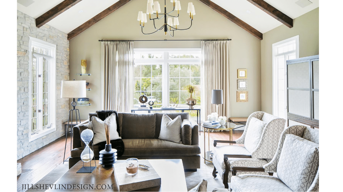 Warm Tones and Easy Living in a California Formal Living Room Jill Shevlin Design Vero Beach Interior Designer