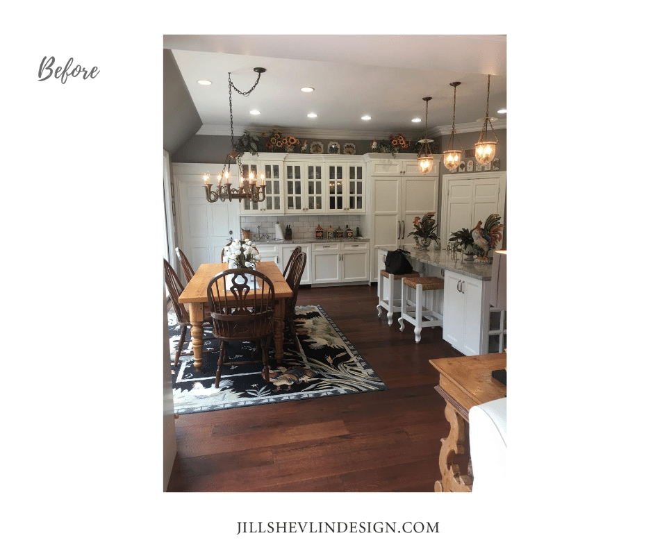 Rancho Santa Fe Remodel Kitchen before Jill Shevlin Design