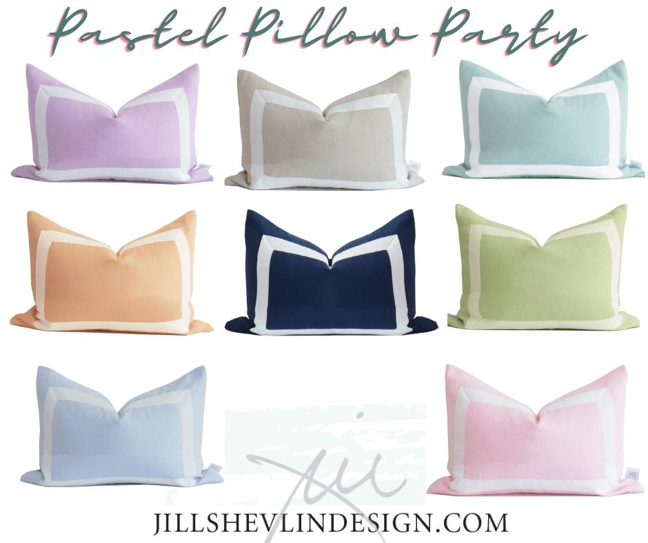 Pastel Pillow Party Pretty Pillows