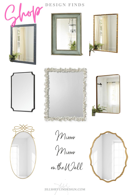Mirrors shop jill Shevlin Design