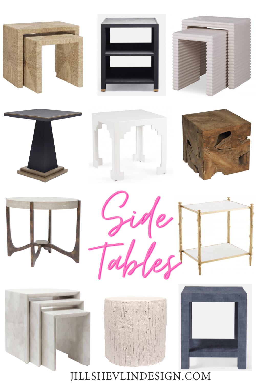 More Side Tables Shop Home Furniture Vero Beach From Interior Designer Jill Shevlin Design