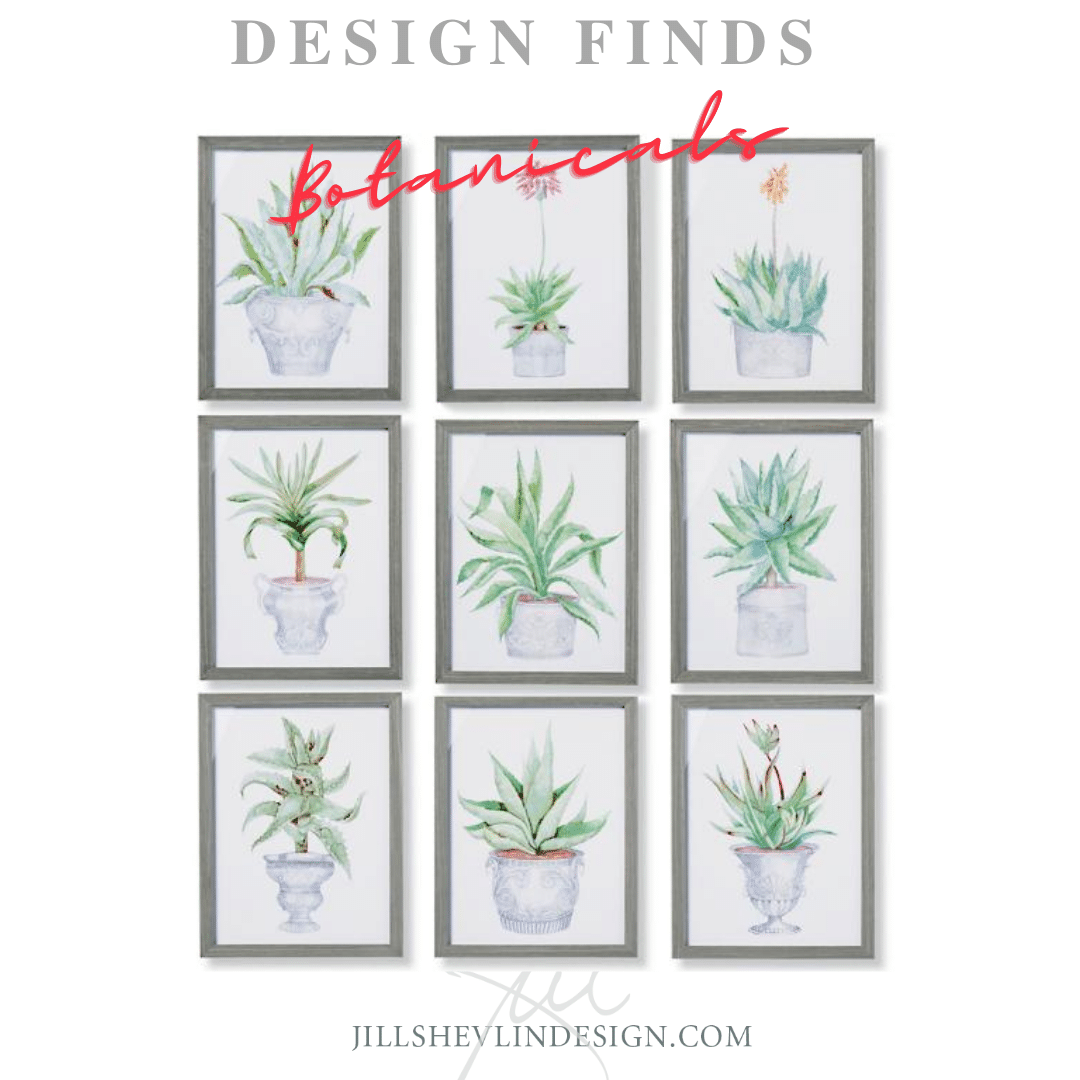 Botanicals The Art of Living Creat A gallery jill shevlin design vero beach interior designer