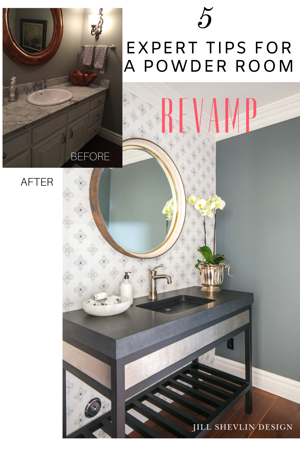 5 Expert Tips for a Powder Room Revamp