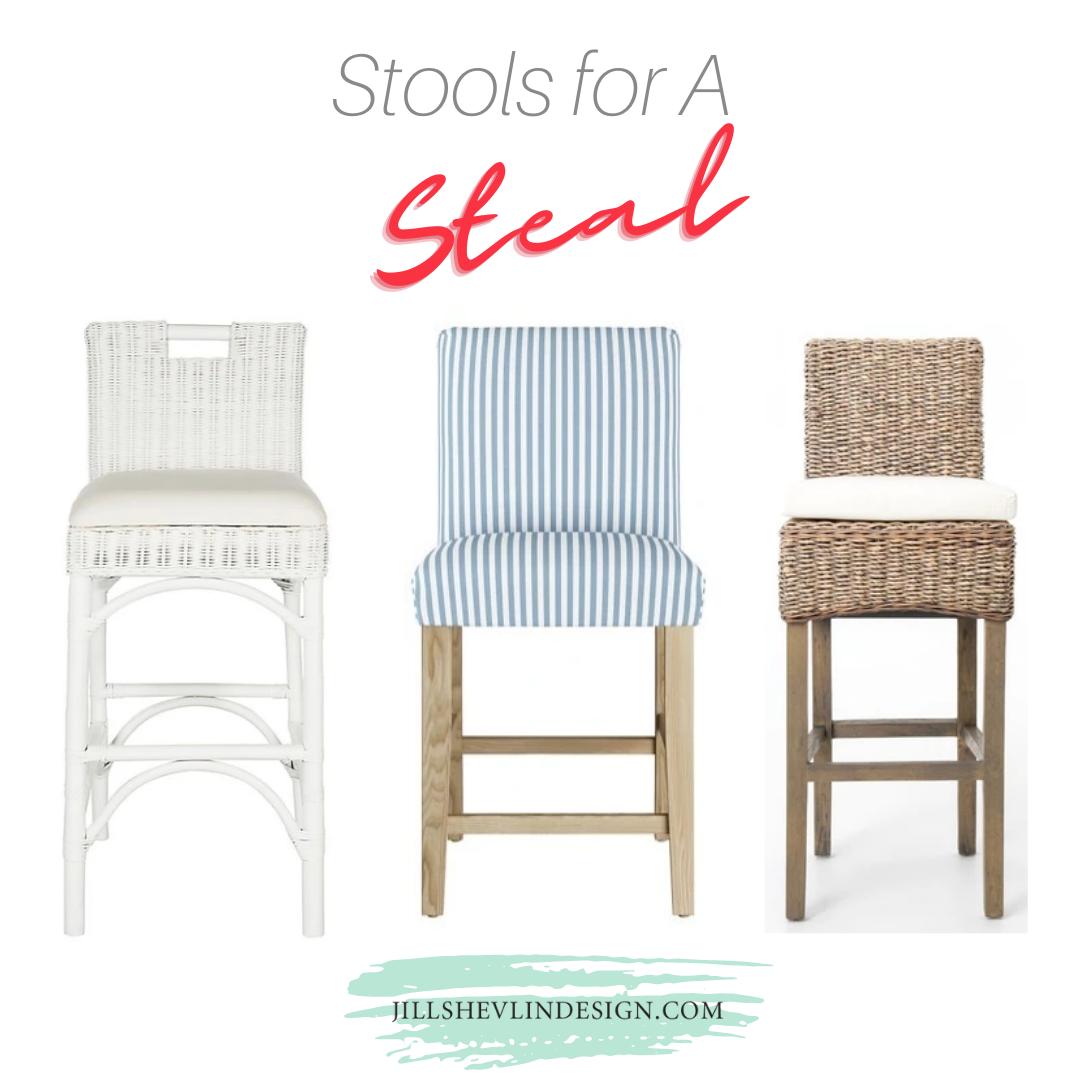 kitchen bar and counter stools at a steal jill shevlin design